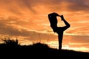 yoga at sunssets